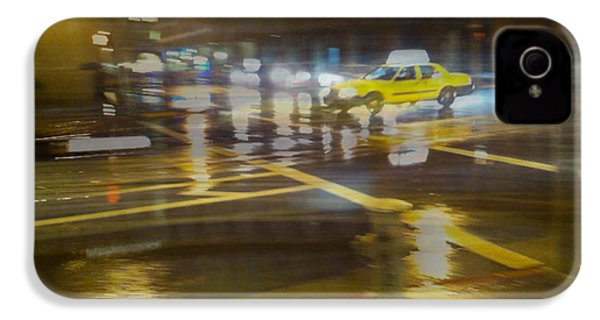 IPhone 4 Case featuring the photograph Wet Pavement by Alex Lapidus