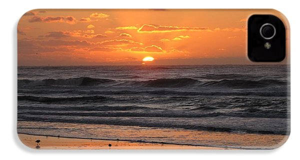 Wildwood Beach Here Comes The Sun IPhone 4 Case by David Dehner