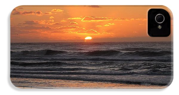 Wildwood Beach Here Comes The Sun IPhone 4 / 4s Case by David Dehner
