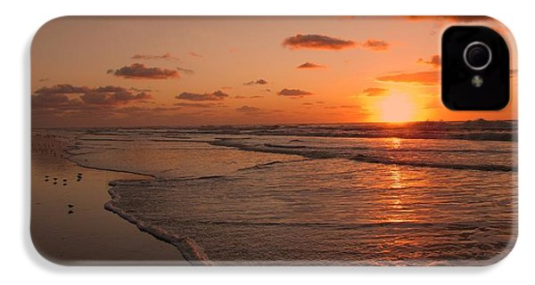 Wildwood Beach Sunrise II IPhone 4 Case by David Dehner