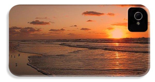 Wildwood Beach Sunrise II IPhone 4 / 4s Case by David Dehner