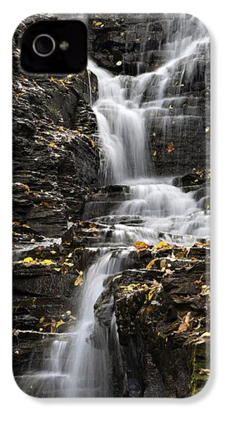 Winding Waterfall IPhone 4 Case by Christina Rollo