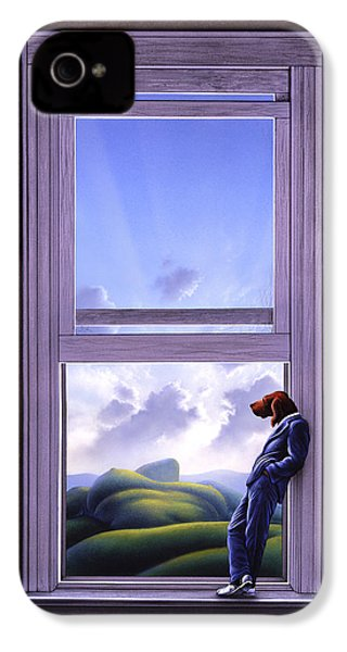 Window Of Dreams IPhone 4 Case by Jerry LoFaro