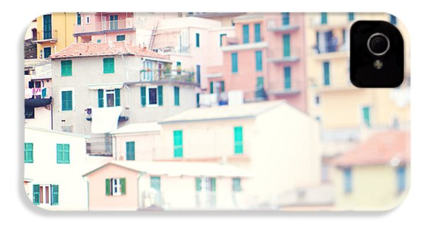 Windows Of Cinque Terre Italy IPhone 4 / 4s Case by Kim Fearheiley