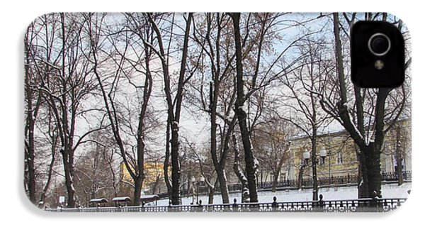 Winter Boulevard IPhone 4 Case by Anna Yurasovsky