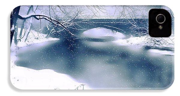 Winter Haiku IPhone 4 Case by Jessica Jenney