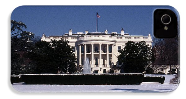 Winter White House  IPhone 4 Case