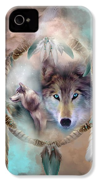 Wolf - Dreams Of Peace IPhone 4 Case
