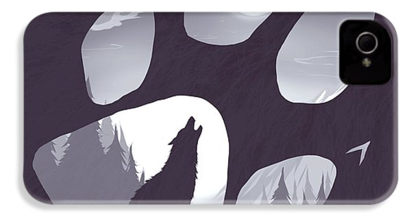 Wolf Paw IPhone 4 Case