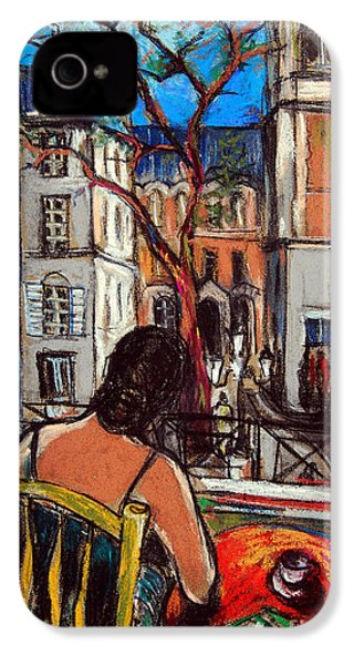 Woman At Window IPhone 4 Case