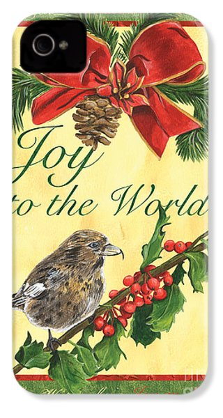 Xmas Around The World 2 IPhone 4 / 4s Case by Debbie DeWitt