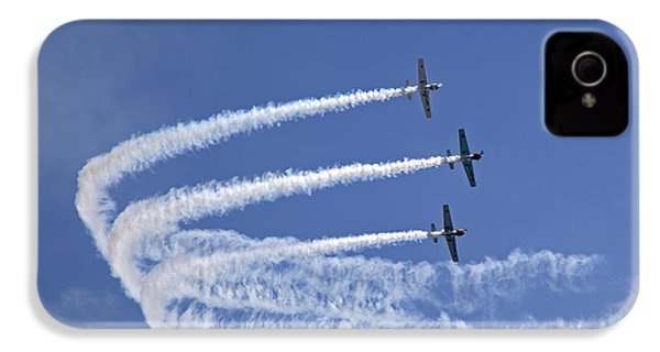 Yaks Aerobatics Team IPhone 4 Case by Jane Rix