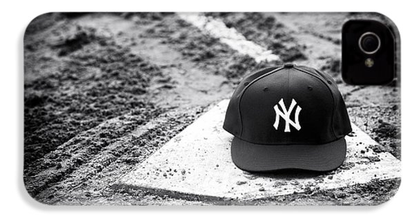 Yankee Home IPhone 4 Case by John Rizzuto