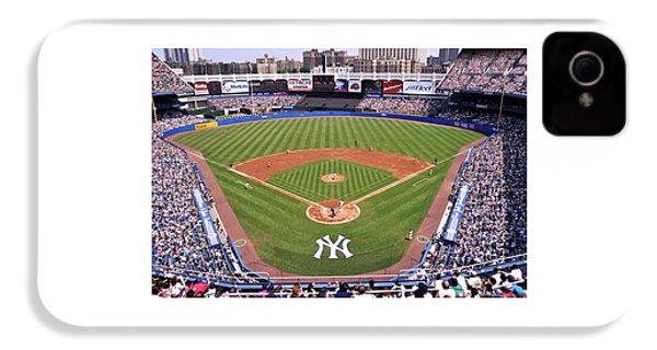 Yankee Stadium IPhone 4 Case by Allen Beatty