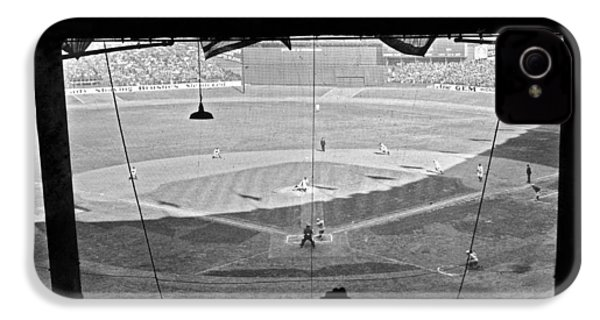 Yankee Stadium Grandstand View IPhone 4 / 4s Case by Underwood Archives