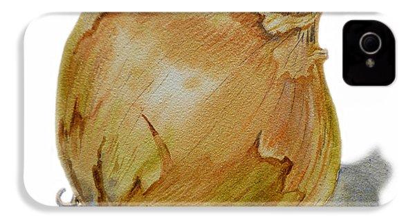 Yellow Onion IPhone 4 / 4s Case by Irina Sztukowski