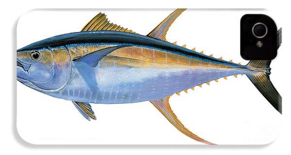 Yellowfin Tuna IPhone 4 Case by Carey Chen