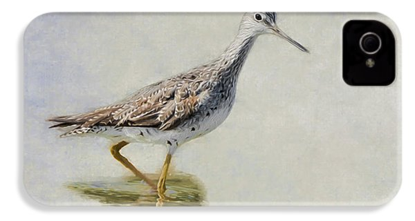 Yellowlegs IPhone 4 Case by Bill Wakeley