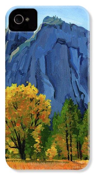 Yosemite Oaks IPhone 4 Case by Alice Leggett