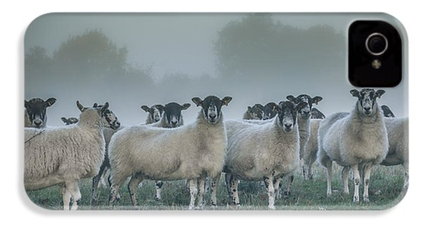 You And Ewes Army? IPhone 4 / 4s Case by Chris Fletcher