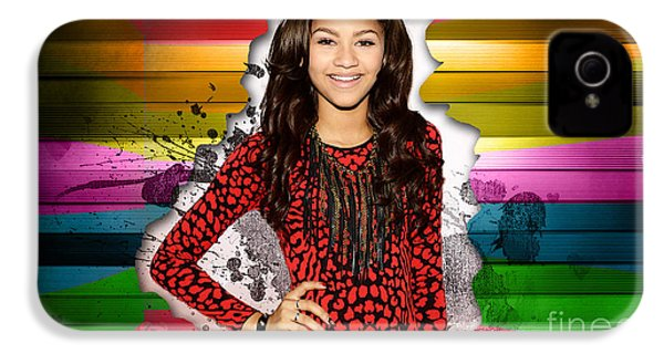 Zendaya IPhone 4 / 4s Case by Marvin Blaine