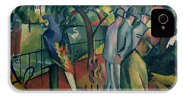 Zoological Garden I, 1912 Oil On Canvas IPhone 4 / 4s Case by August Macke