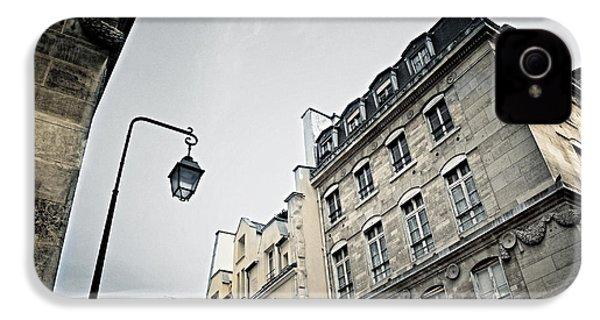 Paris Street IPhone 4 Case by Elena Elisseeva