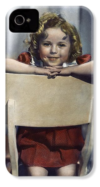 Shirley Temple (1928- ) IPhone 4 / 4s Case by Granger