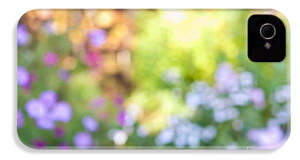 Flower Garden In Sunshine IPhone 4 Case by Elena Elisseeva