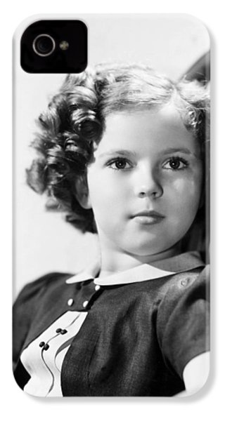 Shirley Temple (1928-  ) IPhone 4 Case by Granger