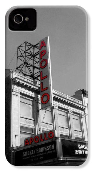 Apollo Theater In Harlem New York No.2 IPhone 4 / 4s Case by Ms Judi