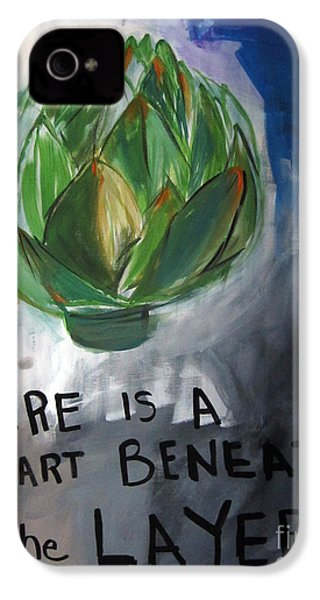 Artichoke IPhone 4 / 4s Case by Linda Woods