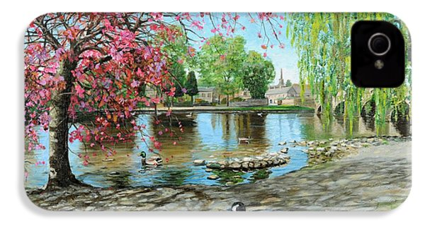 Bakewell Bridge - Derbyshire IPhone 4 / 4s Case by Trevor Neal