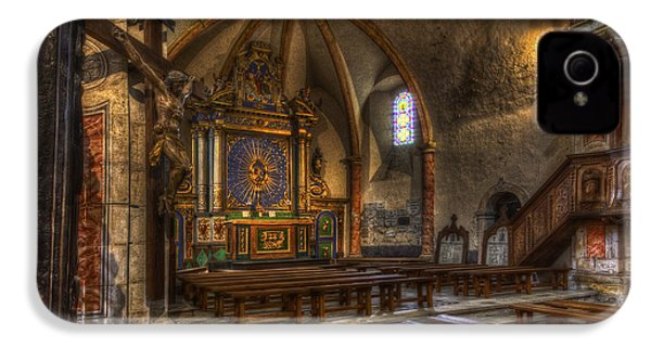 Baroque Church In Savoire France 2 IPhone 4 Case