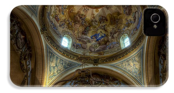 Baroque Church In Savoire France 5 IPhone 4 Case