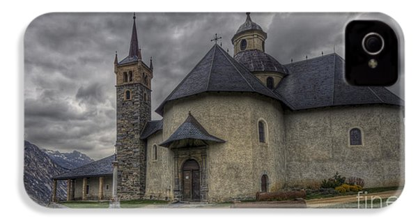 Baroque Church In Savoire France 6 IPhone 4 Case