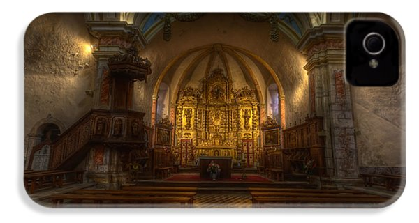 Baroque Church In Savoire France IPhone 4 Case