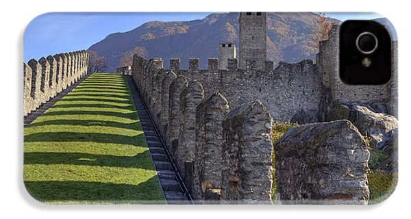 Bellinzona - Castelgrande IPhone 4 Case by Joana Kruse