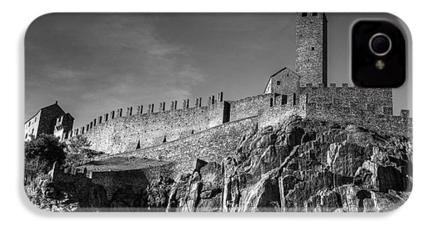 Bellinzona Switzerland Castelgrande IPhone 4 Case by Joana Kruse