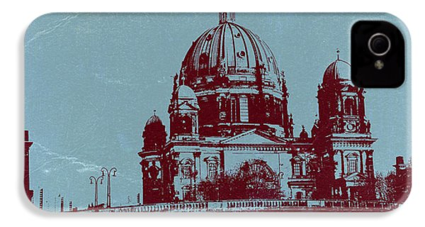 Berlin Cathedral IPhone 4 Case by Naxart Studio