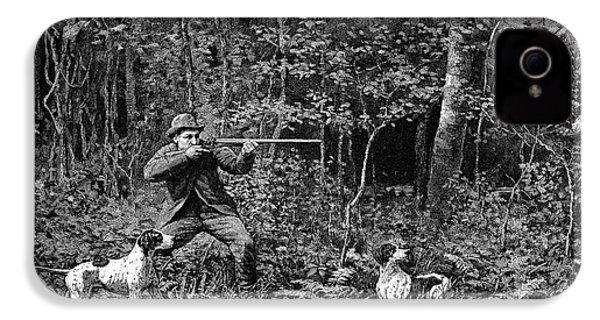Bird Shooting, 1886 IPhone 4 / 4s Case by Granger