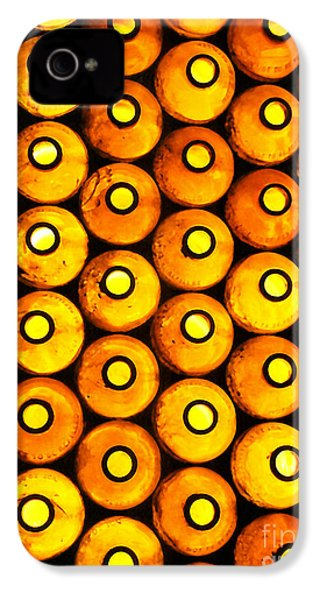 IPhone 4 Case featuring the photograph Bottle Pattern by Nareeta Martin
