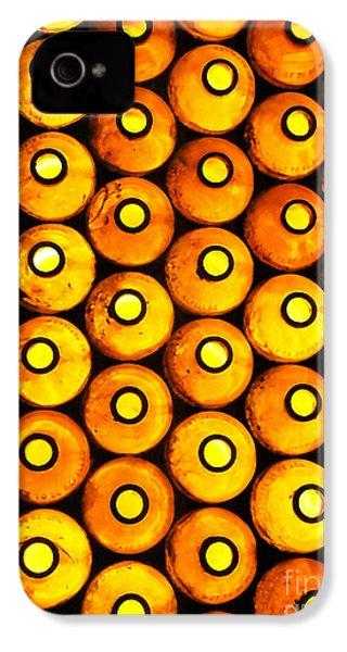 Bottle Pattern IPhone 4 Case by Nareeta Martin