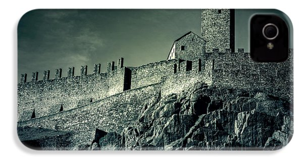 Castelgrande Bellinzona IPhone 4 Case by Joana Kruse