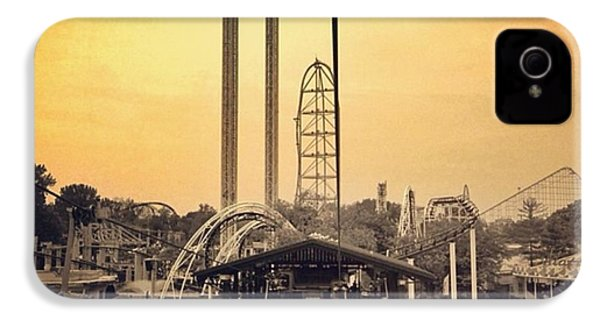 #cedarpoint #ohio #ohiogram #amazing IPhone 4 Case by Pete Michaud