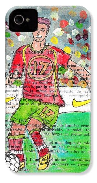 Cristiano Ronaldo IPhone 4 / 4s Case by Jera Sky