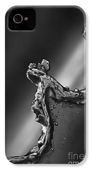 IPhone 4 Case featuring the photograph Cutting Edge Sibelius Monument by Clare Bambers