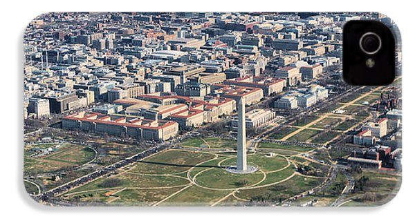 Dc From Above IPhone 4 / 4s Case by JC Findley