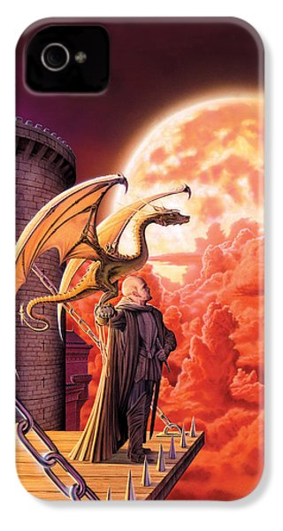 Dragon Lord IPhone 4 Case by The Dragon Chronicles - Robin Ko
