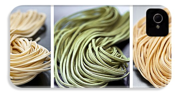 Fresh Tagliolini Pasta IPhone 4 Case by Elena Elisseeva